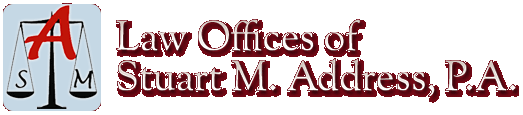 The Law Offices of Stuart M. Address, P.A. Logo